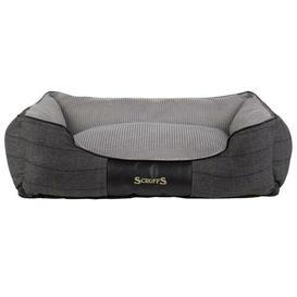 image-Windsor Bolster Cushion Scruffs Size: 16cm H x 60cm W x 50cmD, Colour: Charcoal/Grey