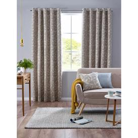 image-Bridgham Eyelet Room Darkening Curtains Three Posts Size per Panel: 168 W x 229 D cm, Colour: Duck Egg
