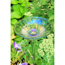 image-Edgington Glass Bird Bath