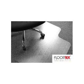 image-Cleartex Advantagemat PVC Lipped Chair Mat For Deep Pile Carpets