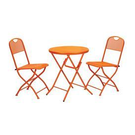 image-Islington 2 Seater Bistro Set Sol 72 Outdoor Colour: Burnt Orange