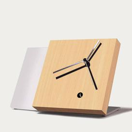image-Beech Wood Finished Tact Table Clock