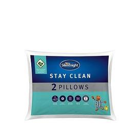 image-Silentnight Stay Clean Pillow