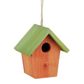 image-Galya Hanging Bird House Sol 72 Outdoor Colour: Orange