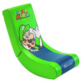 image-X Rocker Video Rocker Junior Gaming Chair - Luigi