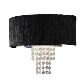image-2-Light Flush Mount Willa Arlo Interiors Shade Colour: Black