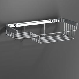 image-Rutha Metal Shower Shelf Belfry Bathroom