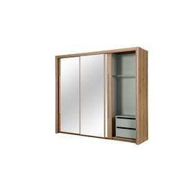 image-Bergen 3 Door Sliding Wardrobe