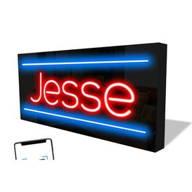 image-Smart LED Neon Sign Jesse By Happy Larry Happy Larry