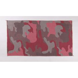 image-Paquette 100% Cotton Beach Towel Isabelle & Max Colour: Pink/Gray