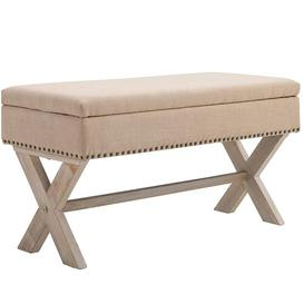 image-Aguiar Upholstered Storage Bench August Grove