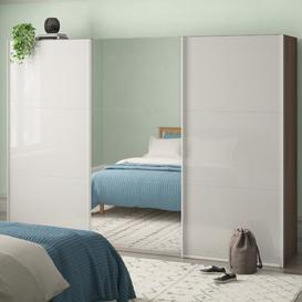 image-Mueller 3 Door Sliding Wardrobe Ebern Designs Interior fittings: Standard