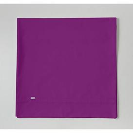 image-144 Thread Count Reinforced Cotton Flat Sheet Symple Stuff Size: Super King (6'), Colour: Purple