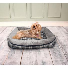 image-Winford Bolster Cushion in Grey Archie & Oscar Size: Small