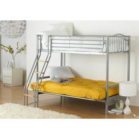 image-Halkyn 15cm Cotton Futon Mattress Symple Stuff Size: Small Single (2'6), Colour: Yellow