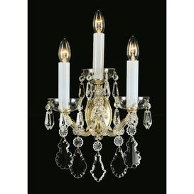 image-Weatherford 3-Light Candle Wall Light Astoria Grand