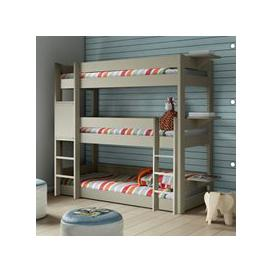 image-Mathy by Bols Dominique Triple Bunk Bed  - Mathy Thunderstorm Grey