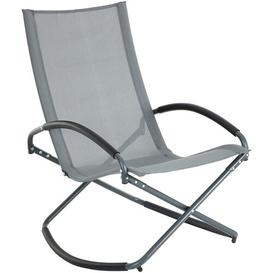 image-Nayla Rocking Chair Sol 72 Outdoor Colour (Fabric): Gray
