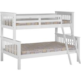 image-Neptune Triple Sleeper Bunk Bed in White