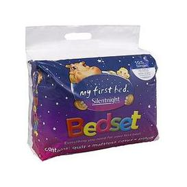 image-Silentnight Kids Complete Bed Set - Includes 10.5 Tog Duvet, Mattress Protector And Pillow
