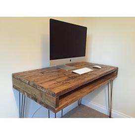 image-Manchester Writing Desk Williston Forge Size: 80.5cm H x 120cm W x 40cm D