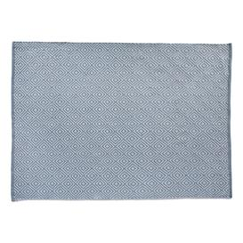 image-Diamond Reversible Rug 120 x 170cm, Denim
