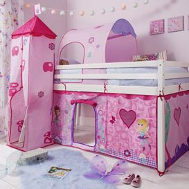 image-Tent, Tower, Tunnel &amp Bed Tidy for Midsleeper Cabin Bed in Fairies
