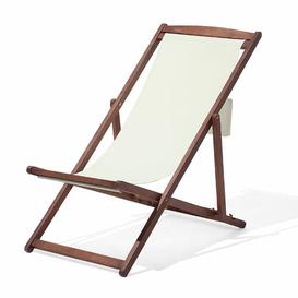 image-Xanthe Reclining Deck Chair with Cushion Sol 72 Outdoor