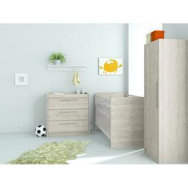 image-Manos Cot Bed 3 Piece Nursery Furniture Set