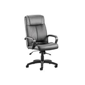 image-Horgan Leather Executive Chair, Black