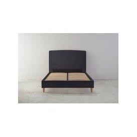 image-Ted 6' Super King Ottoman Bed Frame in Violet Leaf