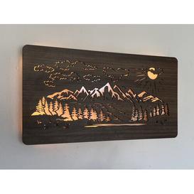 image-Blaney Mountains Night Light Union Rustic