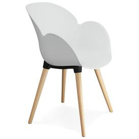 image-Aon Dining Chair Mikado Living Colour: White