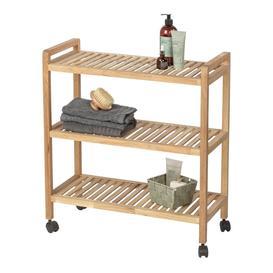 image-Ducote 65Cm W x 72Cm H x 31Cm D Free-Standing Bathroom Shelves