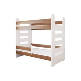 image-Larson High Sleeper Bed Isabelle & Max Colour (Bed Frame): Alder, Size: European Toddler (80 x 180 cm)