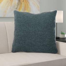 image-Alton Cushion with Filling Ebern Designs Size: 43 x 43cm, Colour: Blue