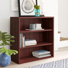 image-Ulloa 75.57cm Standard Bookcase Mercury Row Finish: Mahogany