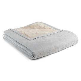 image-Regis Blanket Mercury Row Colour: Grey/Brown/Blue