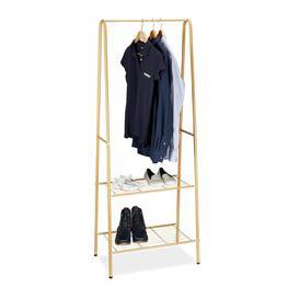 image-Tarbell 61.5cm Wide Clothes Rack Wayfair Basics Finish: Honey Brown