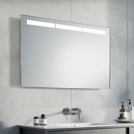 image-Cordell LED Illuminated Bathroom Mirror Metro Lane Size: 60cm H x 80cm W x 3.2cm D