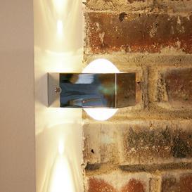 image-Palko 2-Light LED Flush Mount Brayden Studio Frame colour: Chrome