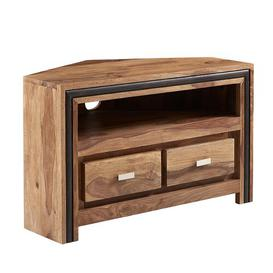"image-Johanna Corner TV Stand for TVs up to 32"" Union Rustic"