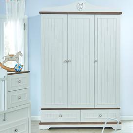 image-Golf Star 3 Door Wardrobe Just Kids