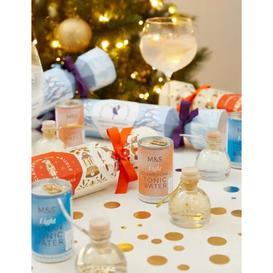 image-M&S Snow Globe Gin Liqueur Christmas Crackers Gift Set (Delivery from 19th November 2021)
