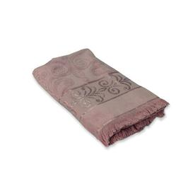image-Finlayson Hand Towel Fleur De Lis Living Colour: Heather