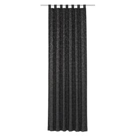 image-Siglerville Tab Top Blackout Thermal Curtain Ophelia & Co. Colour: Grey, Panel Size: 132 W x 145 D cm