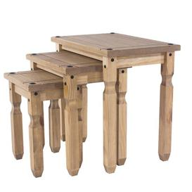 image-Choate 3 Piece Nest of Tables Brambly Cottage Finish: Natural