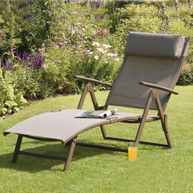 image-Nesmith Sun Lounger Sol 72 Outdoor Fabric: Mocha