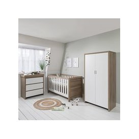 image-Tutti Bambini Modena Cot Bed 3 Piece Nursery Set