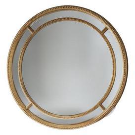 image-Sinatra Gold Round Mirror Gold